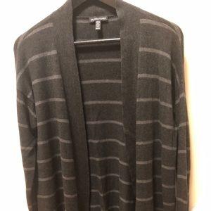 Eileen Fisher stripe open cardigan. Size xs.